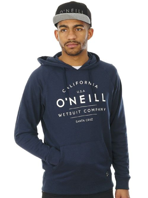 O'NEILL MENS HOODY.NEW NAVY BLUE HOODED TOP SURFER HOODIE JUMPER 7S 1400 5056